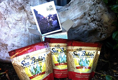 Sea Bakin Seaweed Snacks (3-Pack Thai Bbq)