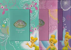 Disney Fairies Tinkerbell Photo Picture Frame 2 Assorted Pc Set