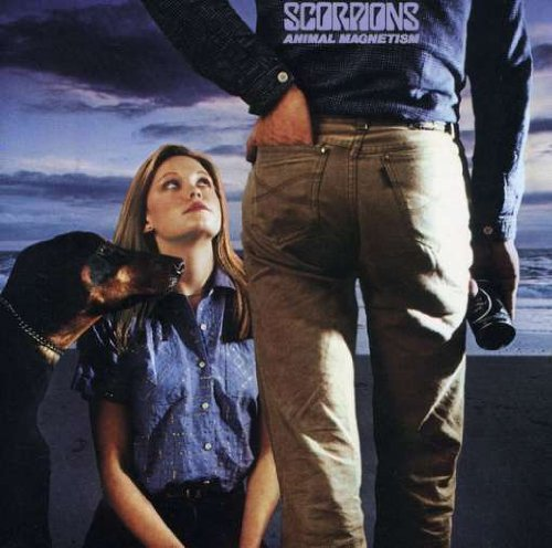 Original album cover of Animal Magnetism by Scorpions