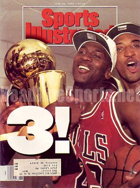 1993 Michael Jordan & Scottie Pippen Sports Illustrated