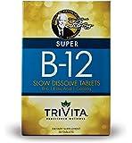 Dr. Libby's Slow Dissolve Super B-12: 3,000 mcg of Vitamin B12, Vitamin B6, Folic Acid, Biotin and Ginseng