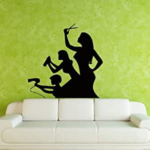 Amazon.com - Wall Decal Decor Decals Sticker Art Stylist Master ...