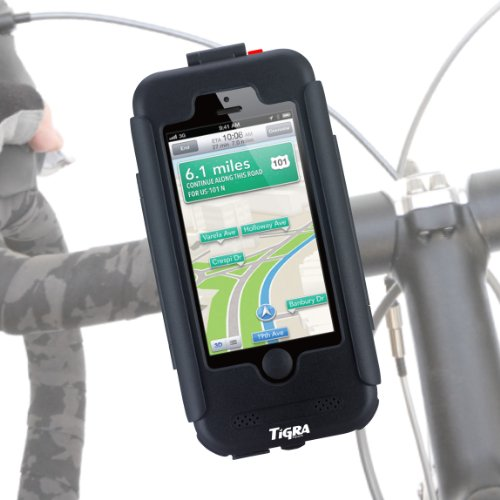 iPhone5S iPhone5 専用 自転車 バイク マウント ホルダー ケース 防水 防塵 耐衝撃 BikeCONSOLE