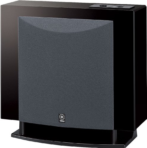 Yamaha YSTFSW100PB Polished Black Bass Subwoofer Speaker