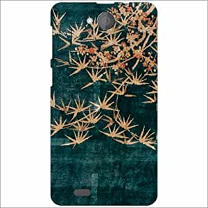 XOLO Prime Back Cover - Silicon Flowers Designer Cases