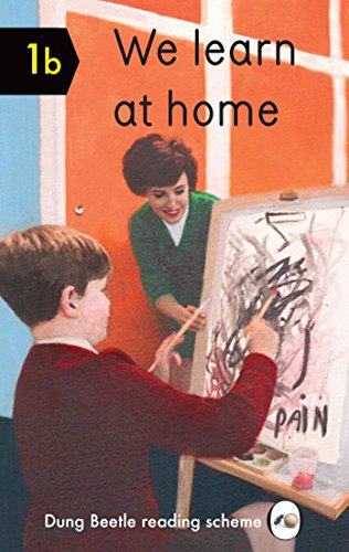 We Learn at Home: Dung Beetle Book 1b
