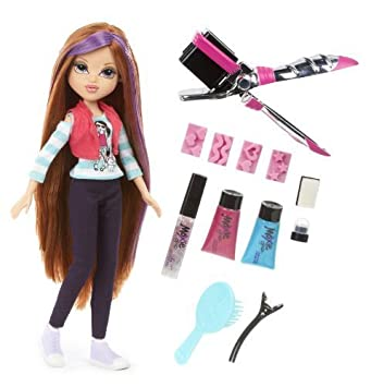 Moxie Girlz Moxie Girlz Magic Hair Stamp 'N' Style Doll Kellan by Moxie Girlz (English Manual)