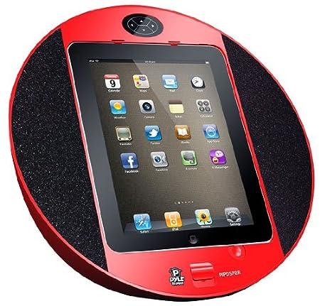 Pyle Home pipdsp2r iPad Système-Haut-parleur Noir