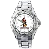 New Fashion WE66 Captain Morgan Rum Stainless Steel Wrist Watch