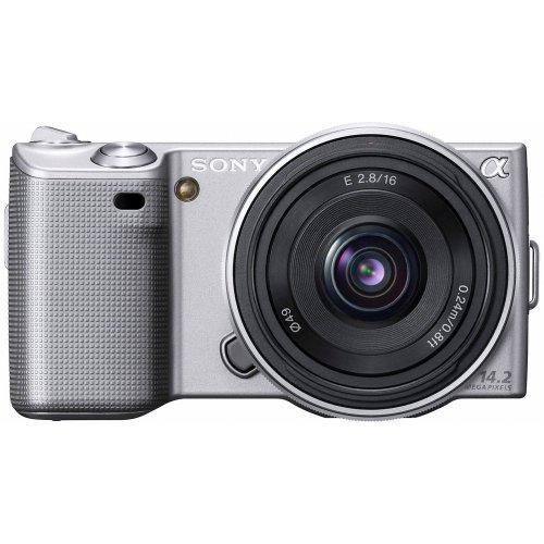 Sony NEX5AS Alpha Compact System Camera - 16mm F2.8 Lens. Silver
