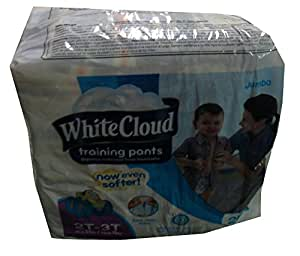 White cloud coupons training pants