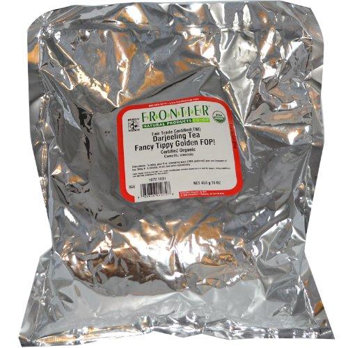 Organic Darjeeling Tea Fancy Tippy 16 Oz Pkg front-853047