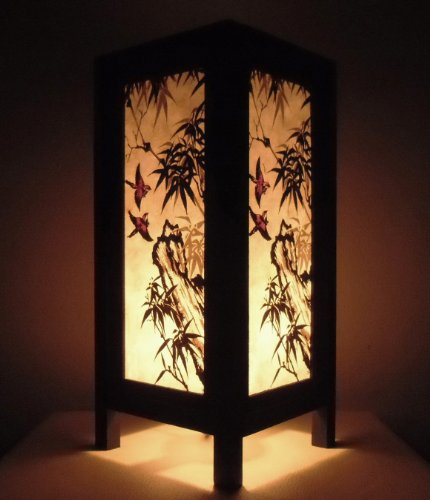 rare-asie-thai-lampe-de-tables-bouddha-style-chevet-oiseau-chinese-foret-par-thailande