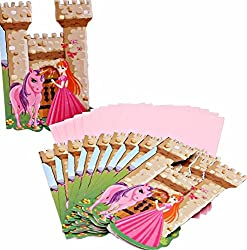 Theme My Party Princess invitations