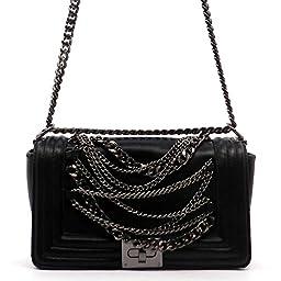 MyLux® Designer Fashion Women Jelly OR PU Leather Clutch Handbag h14062 (80413bk)