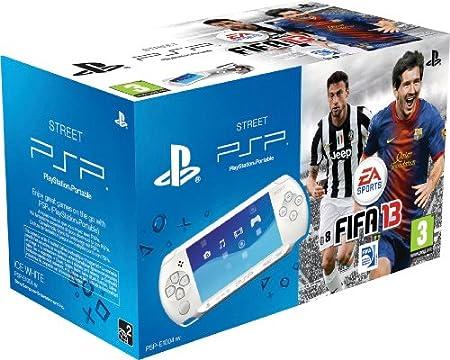 PSP - Console E1000 White + FIFA 13 [Bundle]