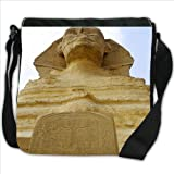 Great Sphinx of Giza Egypt Small Denim Shoulder Bag / Handbag