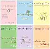 img - for Emily Giffin 6 Book Set : Something Borrowed Something Blue Baby Proof Love the One You're with Heart of the Matter, Where We Belong book / textbook / text book