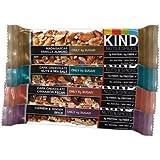 KIND Nuts & Spices, Variety Pack, 12-Count Bars (Cashew & Ginger Spice, Dark Chocolate Cinnamon Pecan, Dark Chocolate Nuts & Sea Salt, Madagascar Vanilla Almond - 3 Bars each), 1.4oz.