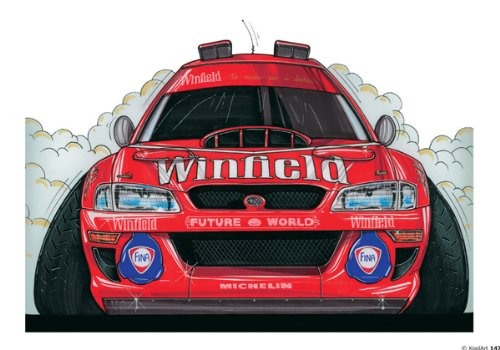 147-subaru-wrc-98-red-winfield-livery-koolart-0147-personalised-10-x-75-icing-cake-topper-any-name-a