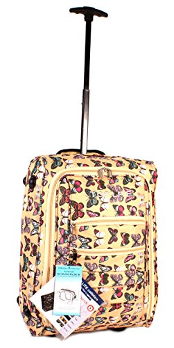 cabin-wb-bfp-01-yellow-butterfly-print-two-wheeled-light-cabin-suitcase-hand-luggage-flight-travel-b