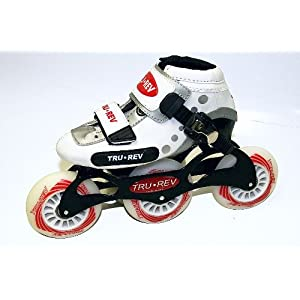 Trurev Youth Inline Skates- 3-84 Size 4- Best Little Skate on Amazon
