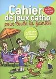 echange, troc Camille Pierre - Cahier de jeux catho pour toute la famille
