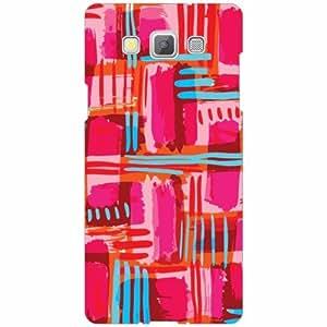 Samsung Galaxy A5 Back Cover - Silicon Mixed Colors Designer Cases