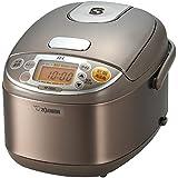 Zojirushi Ih Rice Cooker Np-ge05-xj Stainless Steel Brown 0.54l (japan import)