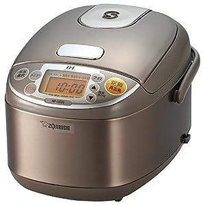 象印 IH炊飯器 極め 3合 ステンレスブラウン NP-GE05-XJ