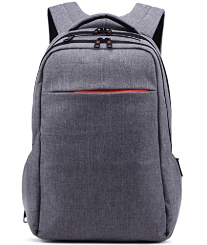 "Laptop Backpack ,Multifunctional Unisex Luggage&Travel Bags Knapsack,rucksack Backpack Hiking Bags Fits Up to 15.6 "" Laptop Macbook Computer,MacBook Air / Pro Retina Display Backpack in Dark Grey"