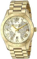 Michael Kors Women's Layton Gold-Tone Watch MK5959