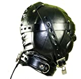 Leather Mask - Leather Hood - Version 2 - EXTREME