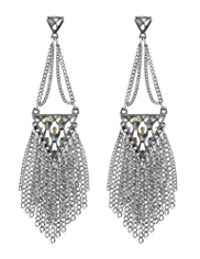 Autograph Fringe Chandelier Drop Earrings MADE WITH SWAROVSKI® ELEMENTS