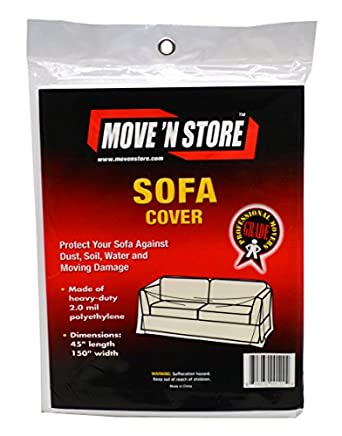Plastic Sofa Couch Moving Cover 1 Bag Mbx