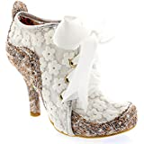 Womens Irregular Choice Abigails Third Party Lace Shoe Boots High Heels