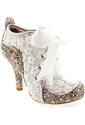 Womens Irregular Choice Abigails Third Party Lace Shoe Boots High Heels