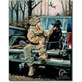 Ducks Unlimited Forever Friends Tin Sign