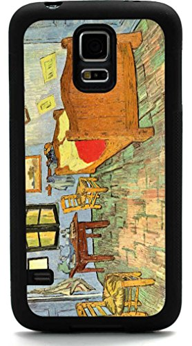 Rikki Knighttm Van Gogh Art Van Gogh'S Bedroom Design Samsung® Galaxy S5 Case Cover (Black Rubber With Front Bumper Protection) For Samsung Galaxy S5 I9600 front-627044
