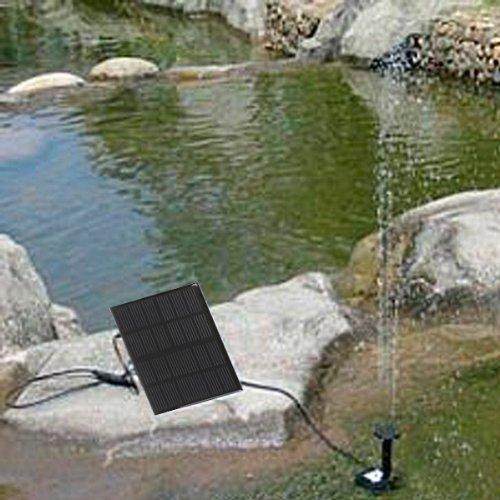 New Solar Brushless Pump For Water Cycle/Pond Fountain/Rockery Fountain
