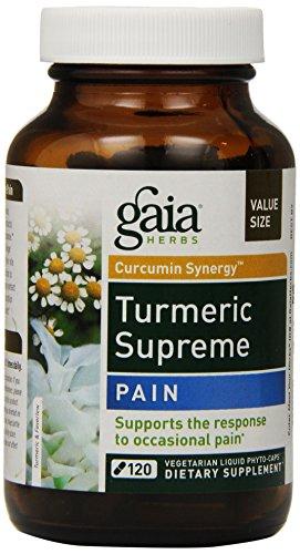 Gaia Herbs Turmeric Supreme Pain, 120 Count