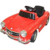 FDS Mercerdes Licensed Kids Ride On Car Children Fashion Toy 6V battery w/Remote Control (Red)