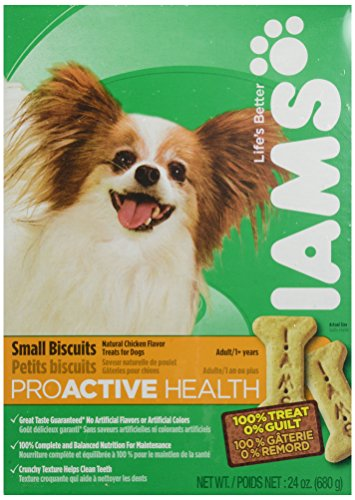 Iams Adult Small Biscuits - 24 oz (Iams Puppy Food Lamb And Rice compare prices)