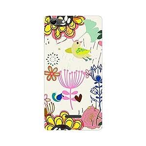 Garmor Designer Plastic Back Cover For Micromax Canvas Selfie 3 Q348