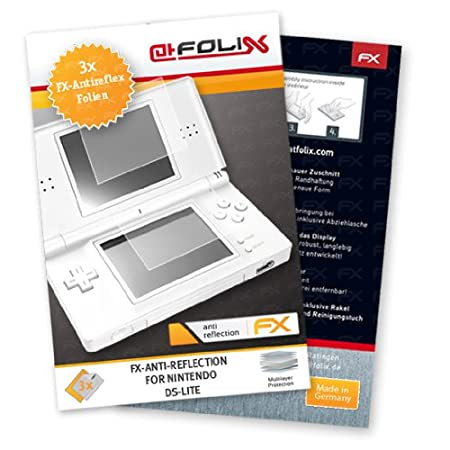 atFoliX FX-Antireflex Antireflective screen protector for Nintendo DS-Lite / NDS-Lite - Anti-glare screen protection! Highest Quality - Made in Germany!