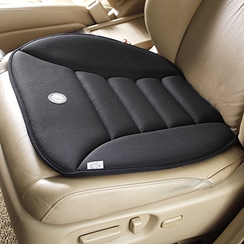 Smart Direct Coccyx Care Memory Foam Seat Cushion for Car Office Home Use (Black) (Car Cushion compare prices)