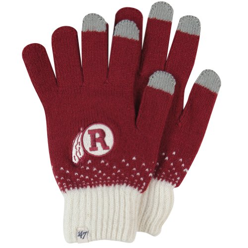 Nfl Washington Redskins Women'S Magic Mountain Glove, Razor Red front-797769
