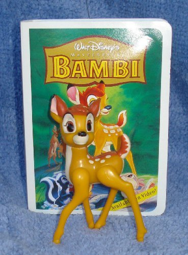 1996 Walt Disney's Masterpiece Collection Bambi Happy Meal Toy in Packaging