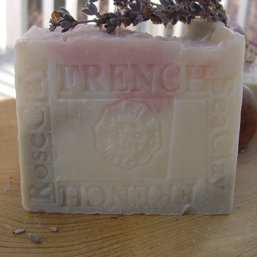 Double Cut Two Year Old Aged Limited Edition Provence Lavender / Jasmine Grandiflorum with Sea and Rose Clay