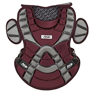 Buy Adams ACP-113 Youth Chest Protector with Detachable Tail (13-Inch, Maroon) by Adams USA